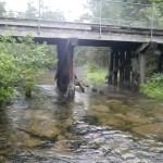 Cold Creek - Railroad Crossing