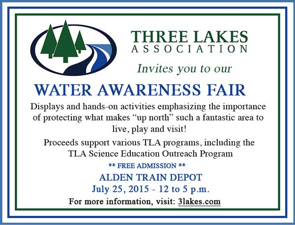Water Awareness Fair July 25,2015 Alden Depot Park