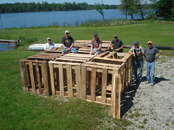 fish shelter build 2016